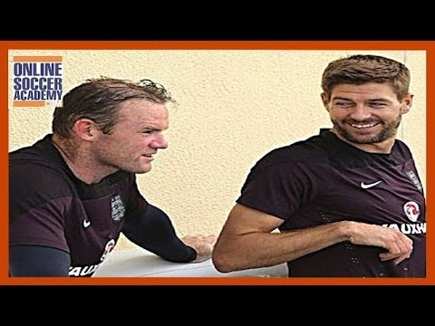 Steven Gerrard Makes a Mistake - What Does He do Next? - Online Soccer Academy