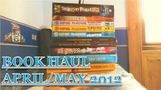 April/May Book Haul - 2012!