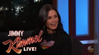 Guest Host David Spade Interviews Courteney Cox