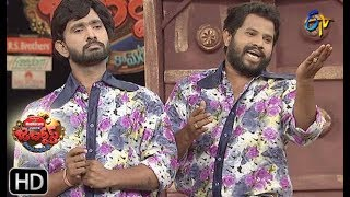 Hyper Aadi, Raising Raju Performance | Jabardasth  | 16th May 2019 | ETV Telugu