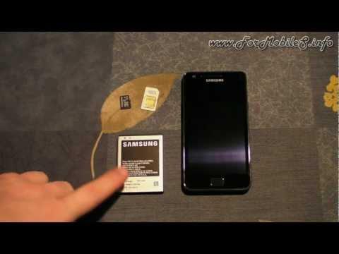 Samsung Galaxy S2 (GT-I9100) - Inserimento SIM. microSD. batteria e prima accensione