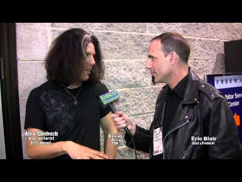 Testament's Alex Skolnick talks w Eric Blair about Time the new Testament cd and love