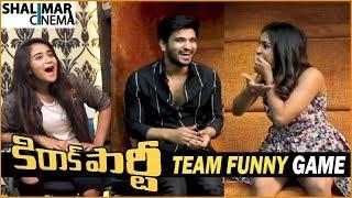Kirrak Party Team Funny Game || Nikhil, Samyuktha, Simran, Deepthi Sunaina