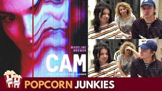 Cam (Netflix Horror Movie) Trailer - Nadia Sawalha & Family Reaction