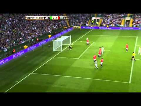 Henrik Larsson vs Manchester United legends 2011/2012