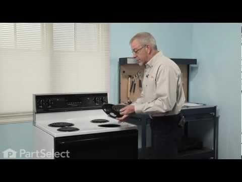 Range/Stove/Oven Repair- Replacing the Surface Burner Receptacle (Whirlpool Part # 12001676)