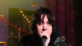 "The Strokes -  ""Taken For A Fool"" Live On David Letterman HD Quality 3/23/11"