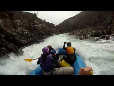 North Fork of the Smith River Rafting April 7, 2012
