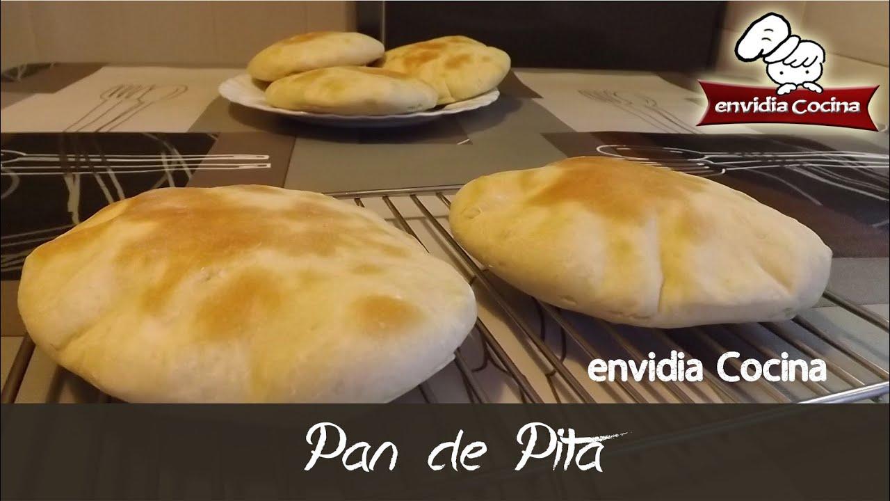 C mo se hace pan de pita receta f cil y r pida for Como se cocina el seitan