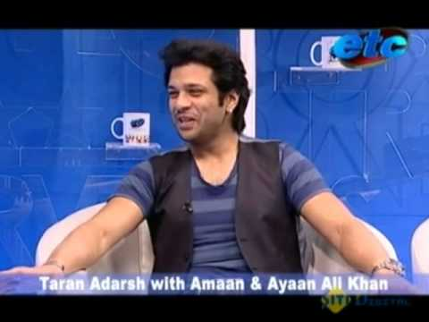 Making films your career?- A talk with Amaan & Ayaan Ali Khan. Video