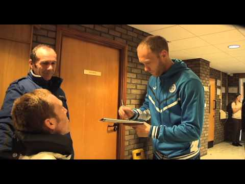 John has a special day at St. Johnstone Football Club