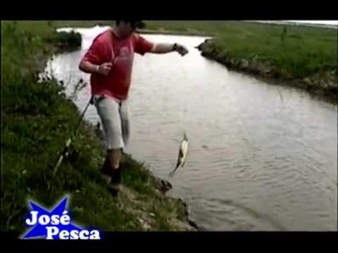 JOSE PESCA ... PESCA DE DORADOS Y TARUCHAS EN SAN PEDRO ARG.
