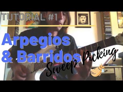 ARPEGIOS & BARRIDOS (SWEEP PICKING) Nivel: Avanzado