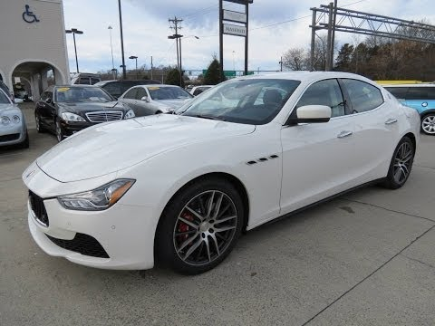 2014 Maserati Ghibli S Q4 Start Up, Test Drive, Exhaust, and In Depth Review