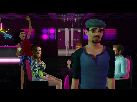 Sims 3 New Pole & Lap Dances At Pre-madonna Exotic Dance Club video