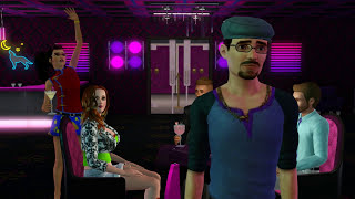 Sims 3 - New POLE & LAP Dances at Pre-Madonna Exotic Dance Club - Sims 3 Machinima