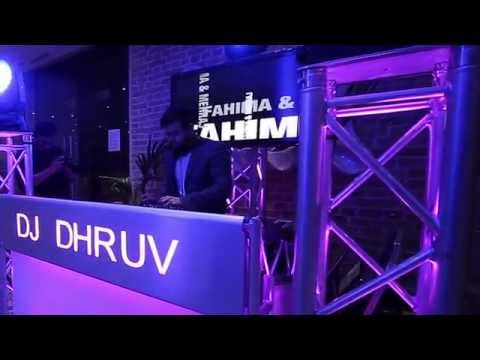 DJ Dhruv At Elite Banqueting Indian wedding reception, Indian DJ , asian wedding dj mobile dj setup