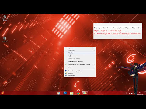 Nod32 Antivirus 7 de 32 y 64 bits para que lo uses de por vida y bien explicado 100% recomendado