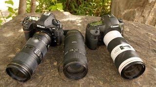 Tamron 70-210mm F4 Di VC vs Canon 70-200 F4 IS II & Nikkor 70-200 F4 VR (With Kyle Marquardt)