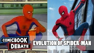 Evolution of Spider-Man in Movies and TV in 7 Minutes (2017)