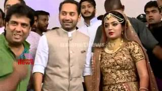 Nazriya Nazim And Fahad Fazil  tie the knot : First visuals