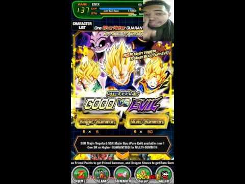 Good vs Evil/D Awakening Frieza! 220 multi summons