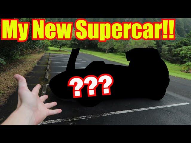 Buying my New Dream Supercar in Hawaii! thumbnail