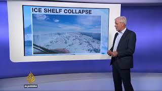 No 130 - Giant Iceberg breaks off from Antarctic ice shelf