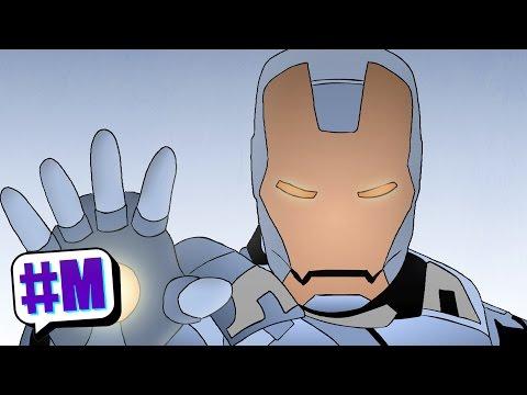 Tony Starch is Iron Man   RageNineteen   MASHED