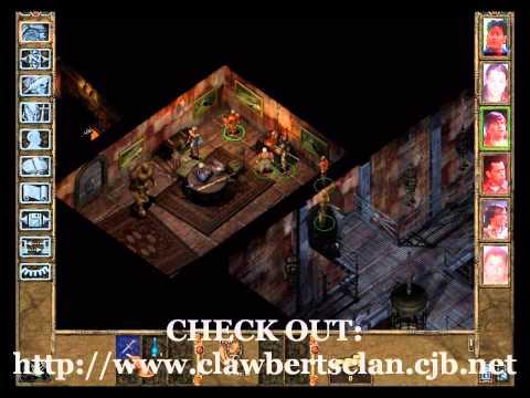 Baldur's Gate II: Shadows Of Amn Gameplay Video #1