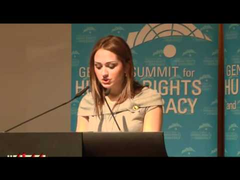 4th Geneva Summit: Hadeel Kouki, Syria