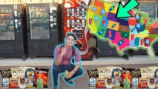 BUYING From A VENDING Machine In EVERY State!!