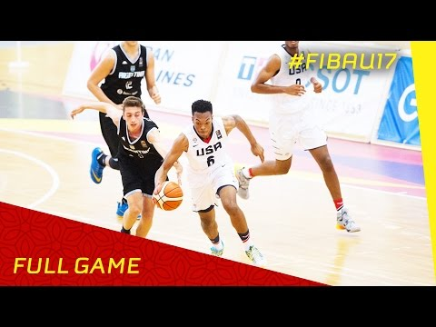USA v Argentina - R.o.16 - Full Game - FIBA U17 World Championship 2016