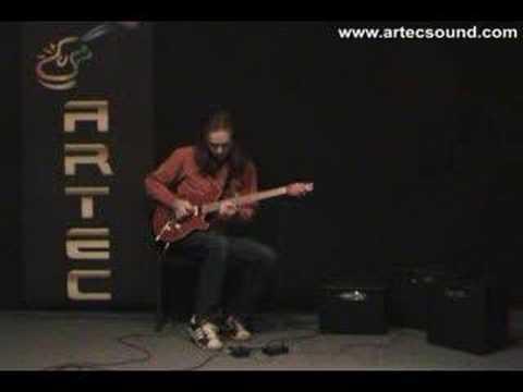 Artec Blues Overdrive Demo By Peta Lukacs