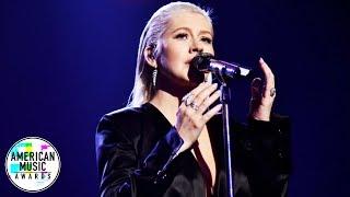 Download Lagu Christina Aguilera - Whitney Houston Tribute (At AMA's 2017) HD Gratis STAFABAND