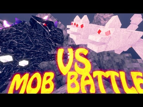 Minecraft Mob Battles | The King vs Mobzilla - Ultimate Bosses Mod