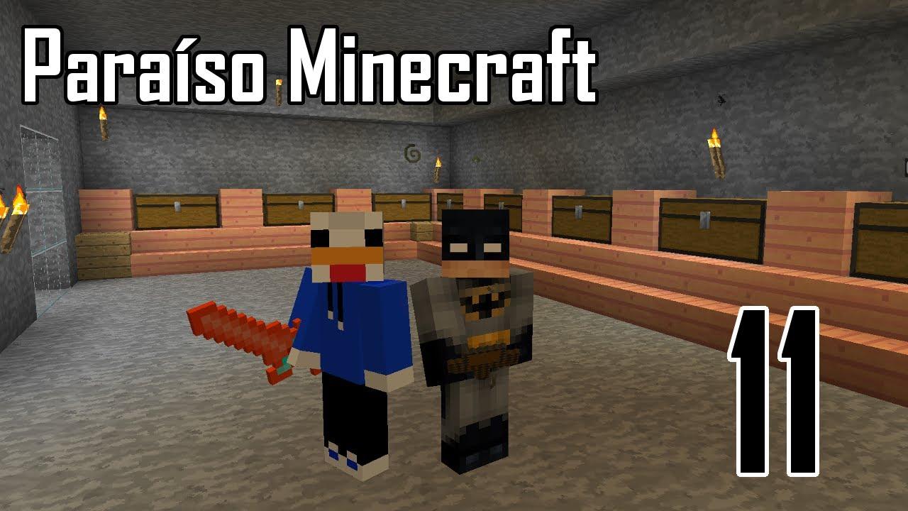 Sala De Estar Minecraft ~ Paraíso Minecraft  Nueva sala de cofres Ep11  YouTube