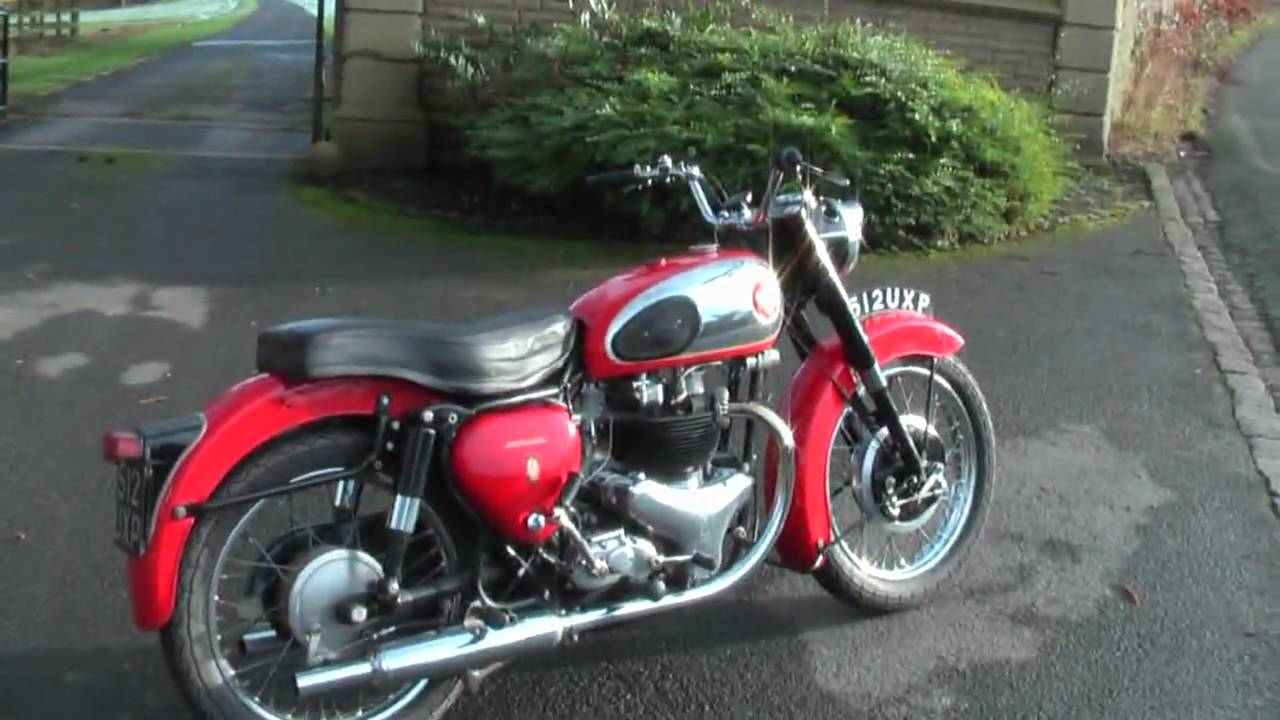 1960 BSA A10 Gold Flash HD - YouTube