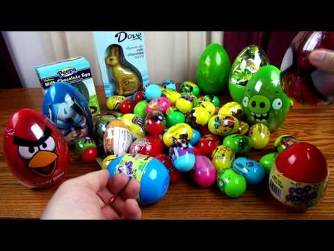 Surprise Eggs Lalaloopsy Minecraft MLP Pony HelloKitty Disney Frozen Play-Doh Minnie Peppa Pig
