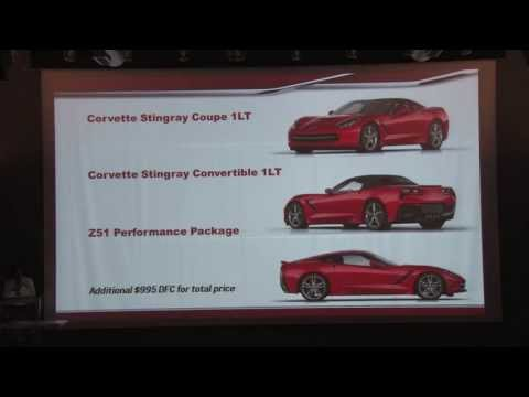 The 2014 Corvette Stingray Seminar at the NCM Bash