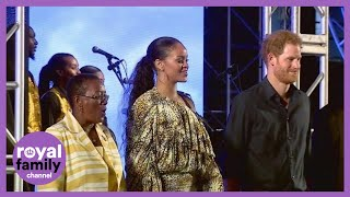 Prince Harry meets Rihanna in Barbados