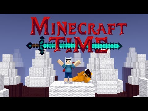 Minecraft Time Minecraft Animation Adventure Time spoof