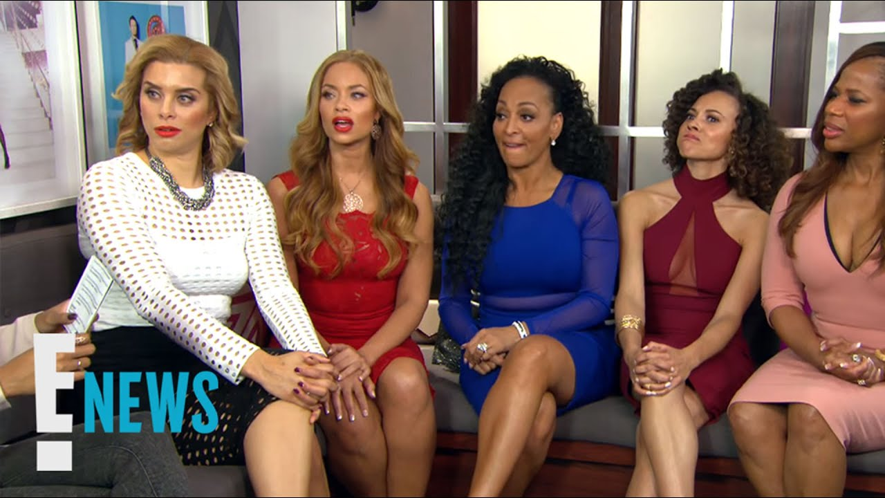 """The """"RHOP"""" Play E!'s Realest Housewife Game!   Celebrity Sit Down   E! News"""