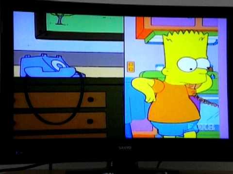 Bart calls Australia!