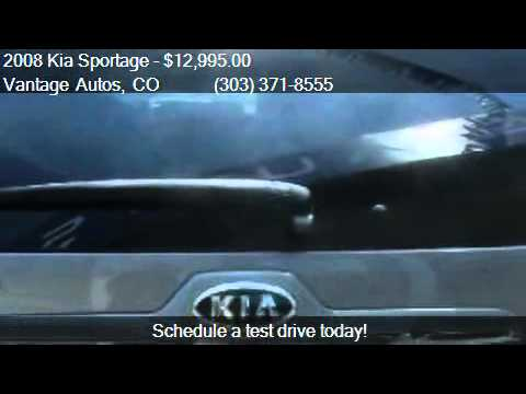 2008 Kia Sportage EX 4dr SUV 4WD for sale in Denver, CO 8021