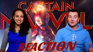 Captain Marvel Trailer 2 Reaction (AHHH)