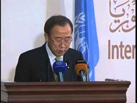 Final Press IHPCS Statement by UN Secretary General Ban Ki Moon