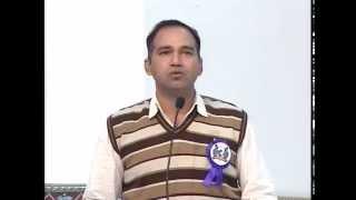Mr.Jitender Kumar Soni Ji, SDM, Mount Abu sharing his goodwishes