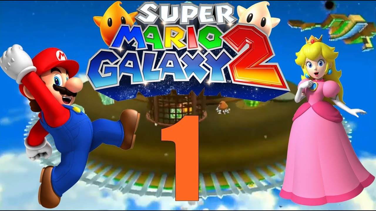 let 39 s play super mario galaxy 2 part 1 deutsch 100 hd kuchen youtube. Black Bedroom Furniture Sets. Home Design Ideas