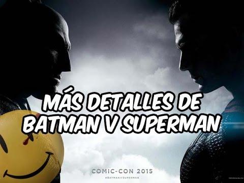 Más detalles acerca de Batman v Superman: El Amanecer del justicia | Cinexceso